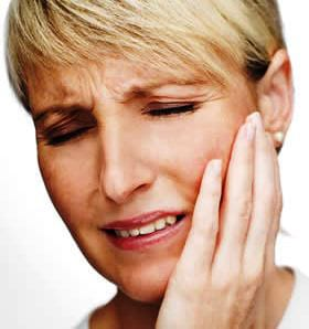 Jaw pain from TMD